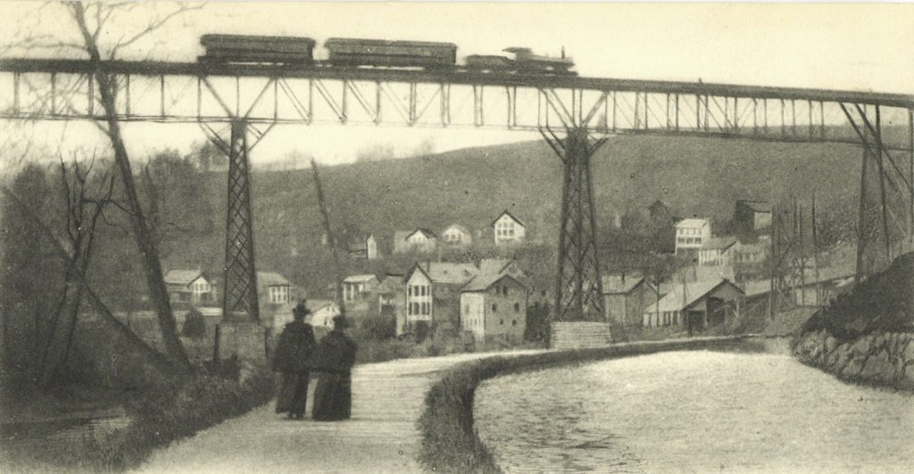 Historical image of viaduct