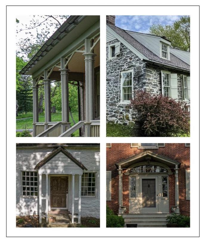 House Tour Collage