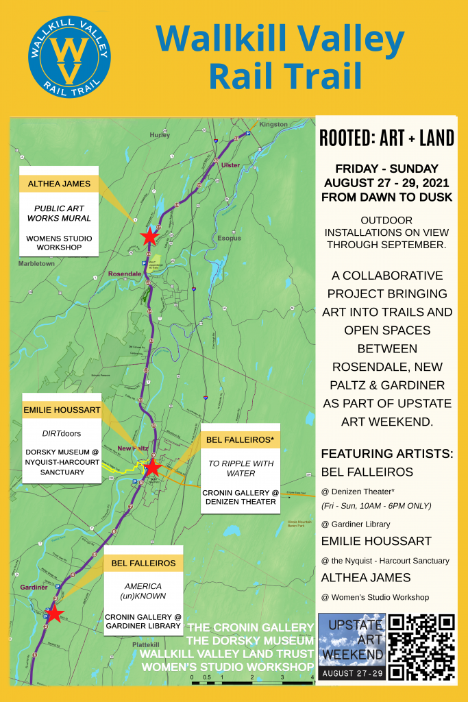 Detailed map - ROOTED: Art & Land
